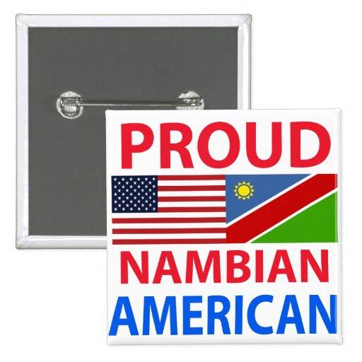 Americano orgulloso de Nambian Pins