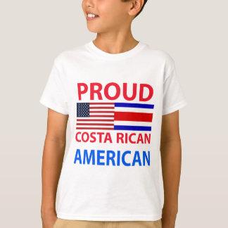 Americano orgulloso de Rican de la costa Polera