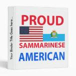 Americano orgulloso de Sammarinese