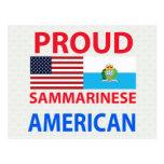 Americano orgulloso de Sammarinese Postal