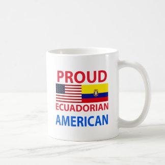 Americano orgulloso del Ecuadorian Tazas
