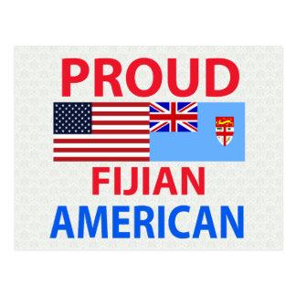Americano orgulloso del Fijian Tarjetas Postales