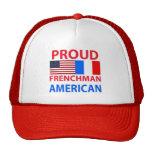 Americano orgulloso del francés gorra