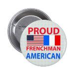 Americano orgulloso del francés pin