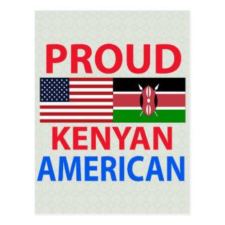 Americano orgulloso del Kenyan Tarjetas Postales