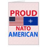 Americano orgulloso felicitación