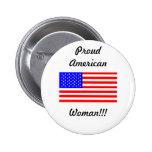 Americano orgulloso pin