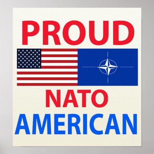 Americano orgulloso poster