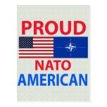 Americano orgulloso tarjeta postal