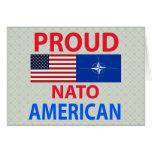Americano orgulloso tarjetas