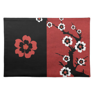 Americano oriental MoJo Placemat de Sakura Mantel Individual