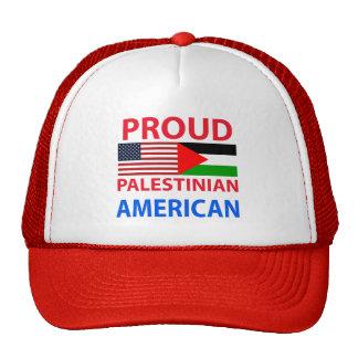 Americano palestino orgulloso gorro
