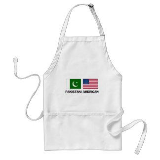 Americano paquistaní delantales