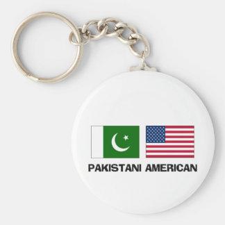 Americano paquistaní llaveros personalizados