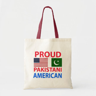 Americano paquistaní orgulloso bolsa de mano