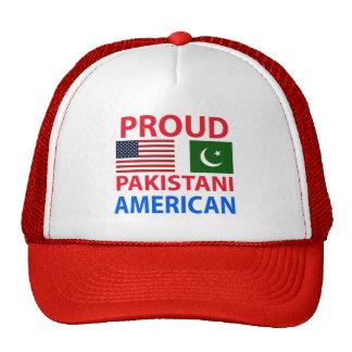 Americano paquistaní orgulloso gorro