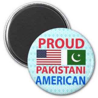 Americano paquistaní orgulloso imán para frigorifico