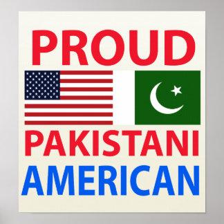 Americano paquistaní orgulloso impresiones