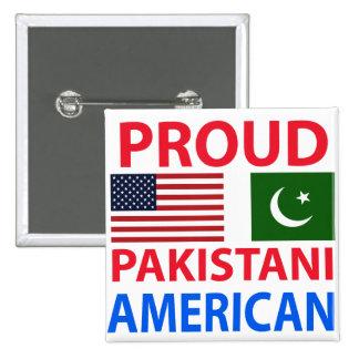 Americano paquistaní orgulloso pins