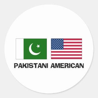 Americano paquistaní etiqueta