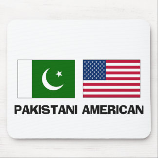 Americano paquistaní alfombrillas de ratón