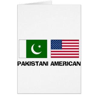 Americano paquistaní felicitacion