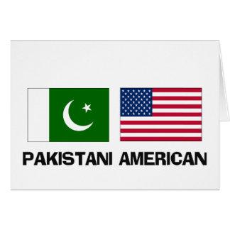 Americano paquistaní tarjetas