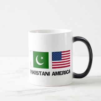 Americano paquistaní taza