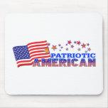Americano patriótico alfombrillas de ratones