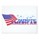 Americano patriótico comunicados