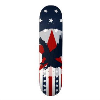 Americano patriótico de Eagle calvo de las barras Patin Personalizado