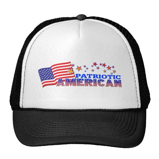 Americano patriótico gorros