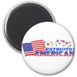 Americano patriótico imanes de nevera