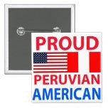 Americano peruano orgulloso pin