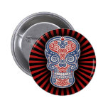 Americano Pin Redondo De 2 Pulgadas