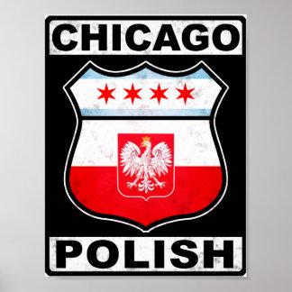 Americano polaco de Chicago Póster