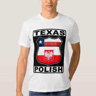 Americano polaco de Tejas Playera