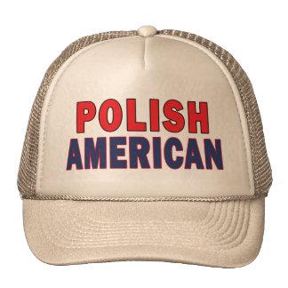 Americano polaco gorro