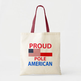 Americano polaco orgulloso bolsas