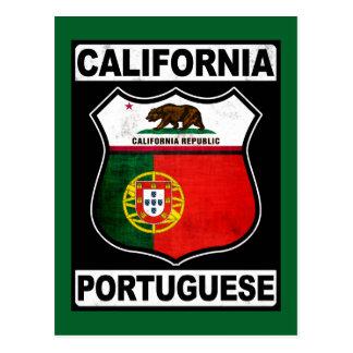 Americano portugués de California Tarjeta Postal