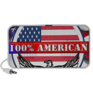 Americano puro notebook altavoz