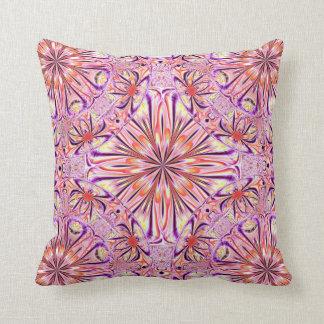 Americano púrpura MoJo P de la flor del fractal de Almohadas