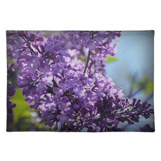 Americano púrpura MoJo Placemats de las lilas Manteles Individuales
