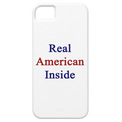 Americano real dentro iPhone 5 Case-Mate funda