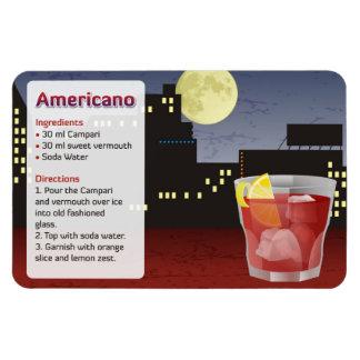 Americano recipe magnet
