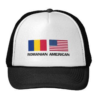 Americano rumano gorras de camionero