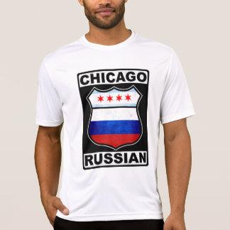 Americano ruso de Chicago Playera