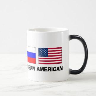 Americano ruso taza mágica