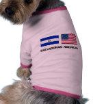 Americano salvadoreño camisas de perritos