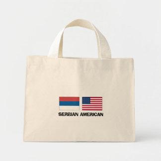 Americano servio bolsa de mano